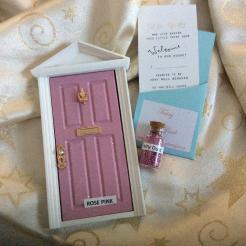 Rose Pink Fairy Door
