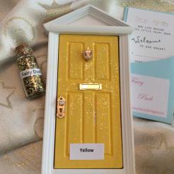 Yellow Sparkle Door