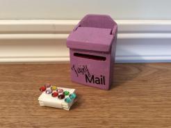 Sparkle Mail Boxes .. Mauve