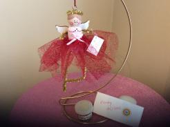 Glittery Fairy in Red