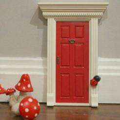 lil Fairy Door, red Canada- helpful to encourage imaginations in children