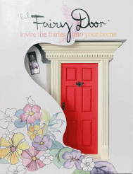 lil Fairy door, red, (Canada) can help military families cope with deployment, etc. decorate with yellow ribbons