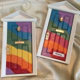 Rainbow Sparkle Door
